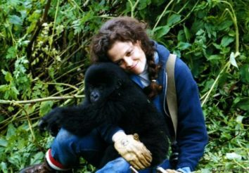 Dian Fossey memorial