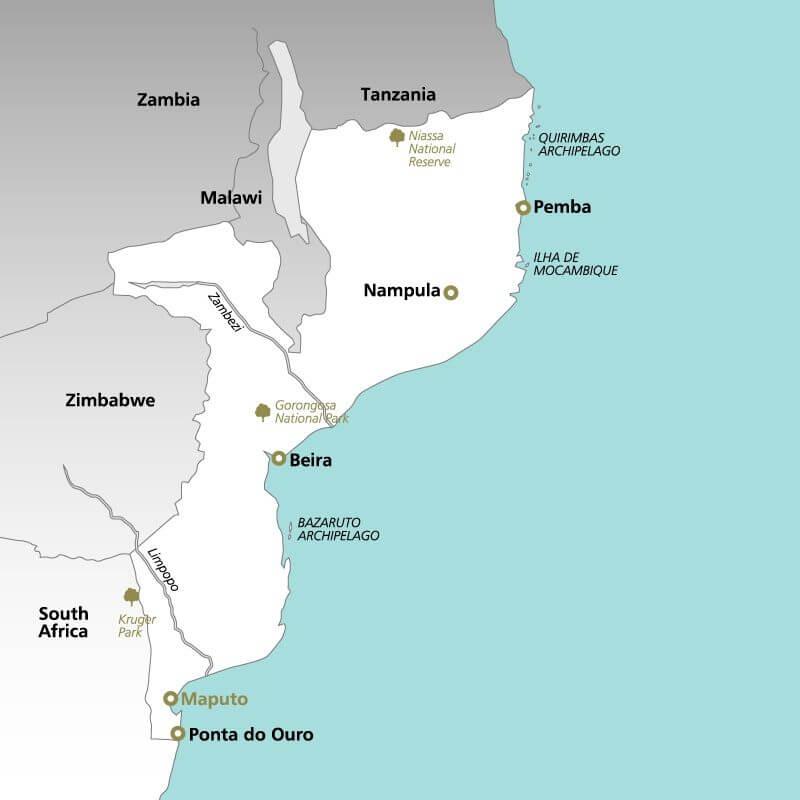 Mozambique--map