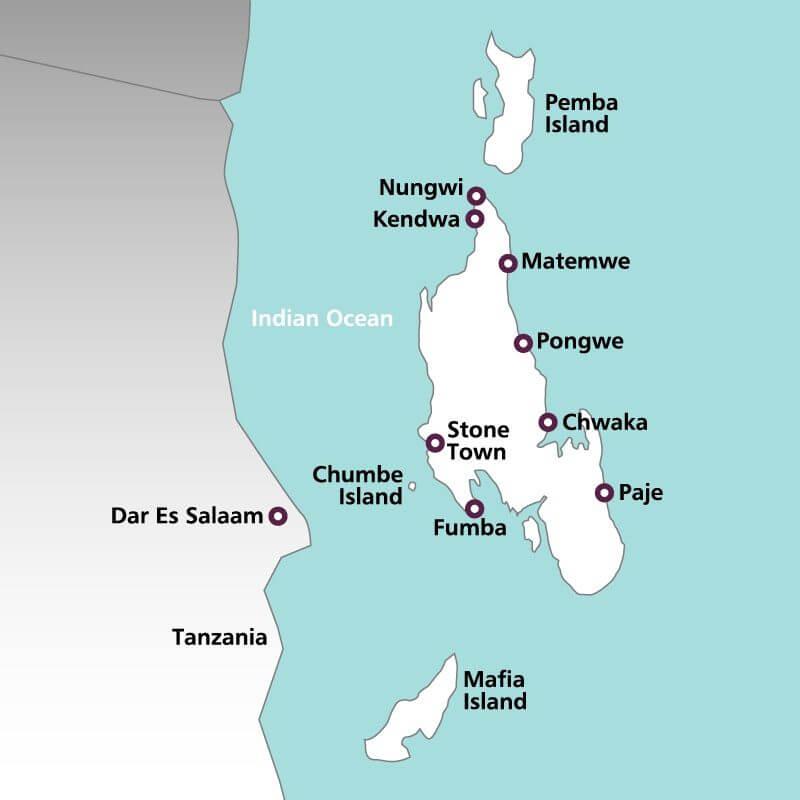 Zanzibar--map