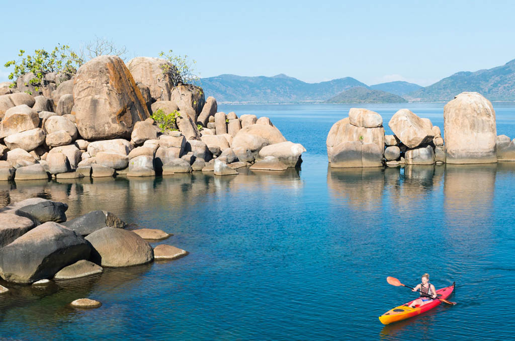 Transfer to Mumbo Island Camp in Lake Malawi National Park