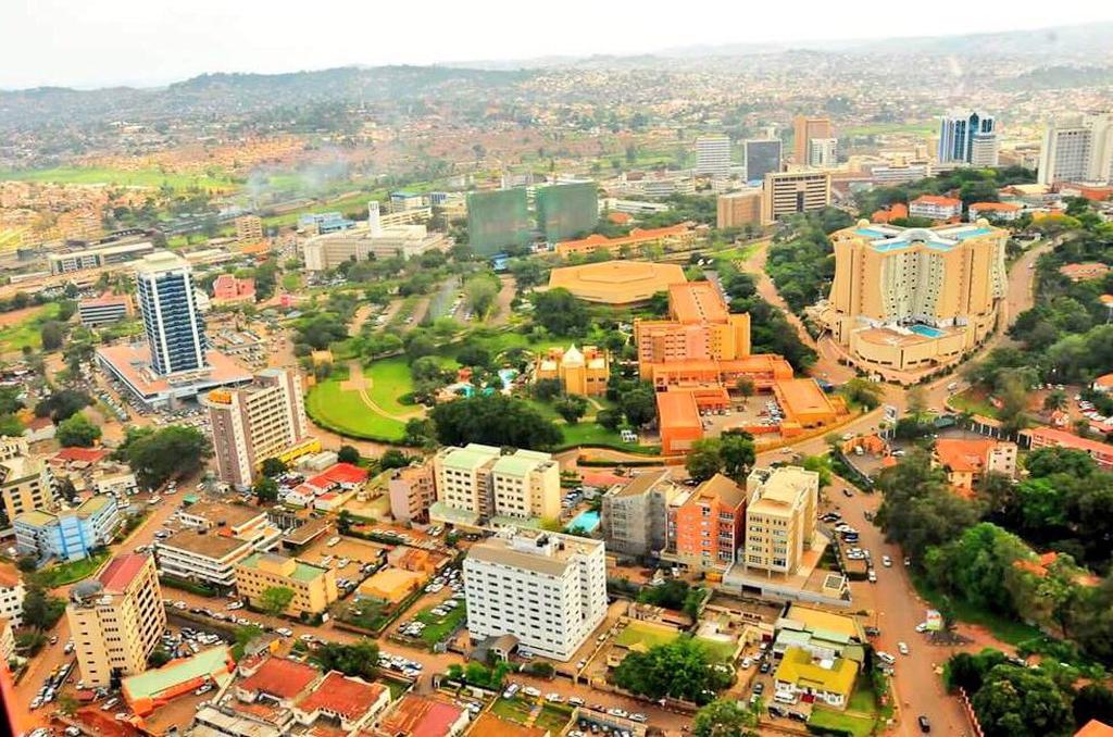 Arrival in Kampala