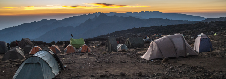 ACCOMMODATION AND CAMPING SERVICES - Days it Takes to Climb Kilimanjaro